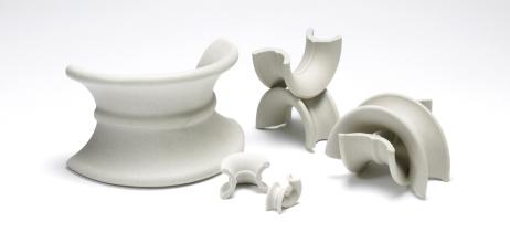 Ceramic Saddles by Christy Catalytics