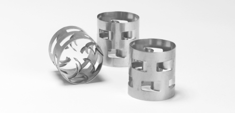 Metal Pall Rings by Christy Catalytics