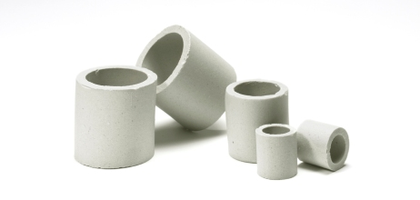 Ceramic Raschig Rings by Christy Catalytics