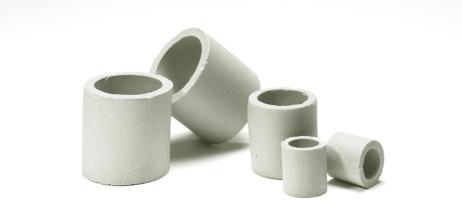 Ceramic Raschig Rings by Christy Catalytics