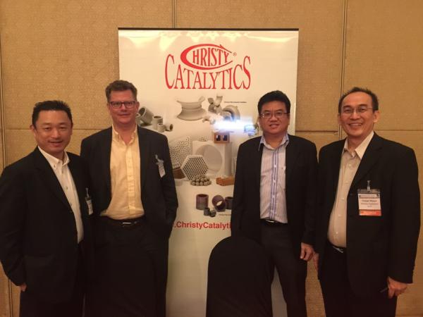 From Left to right   Mr. Tomo Mori, Mr. Vernon Christensen, Mr. K.S. Yong, Mr. Yoseph Wijaya resized 600